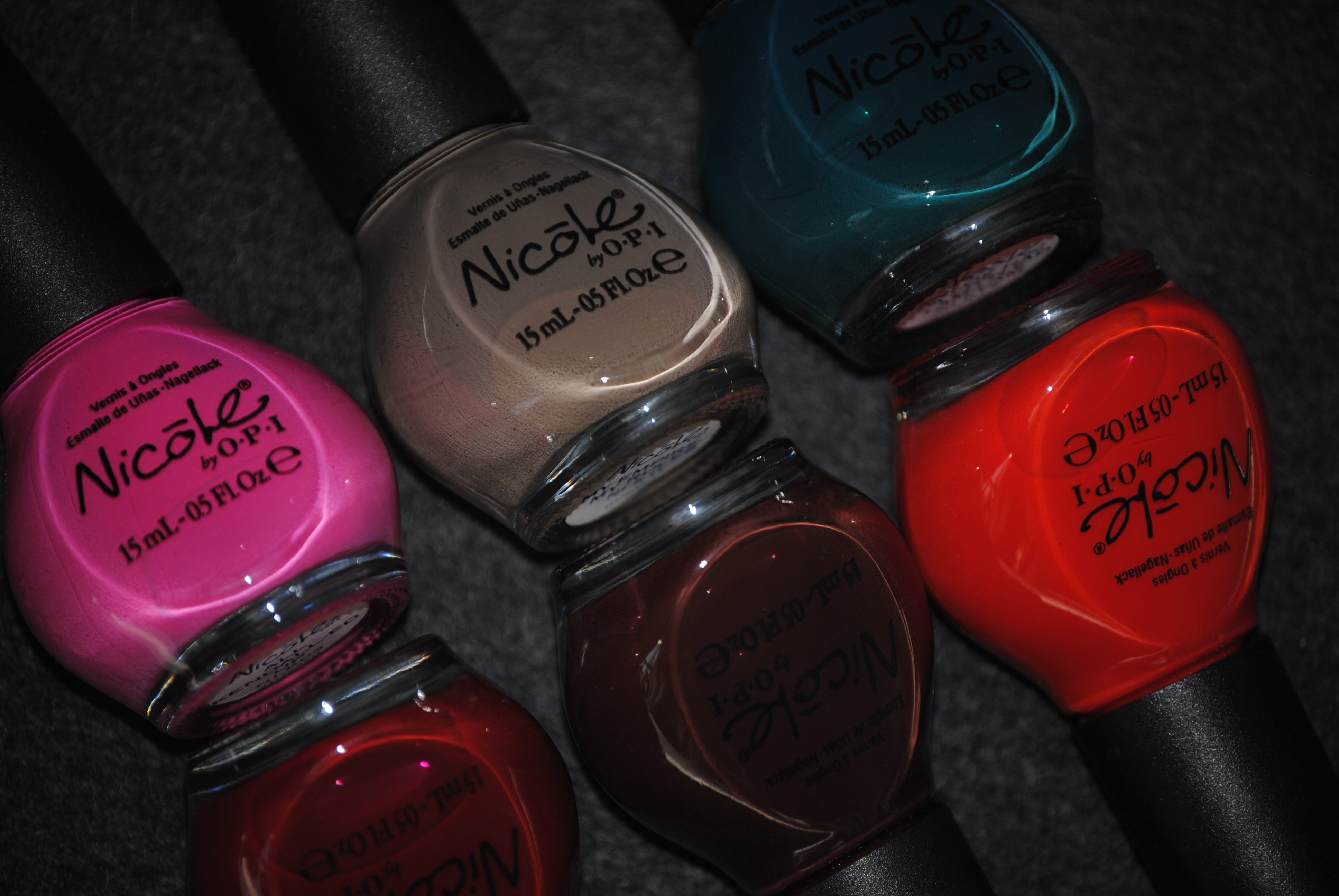 The Kardashian Kolors \'The Cremes\' – Nicole by OPI (part 1, swatches ...