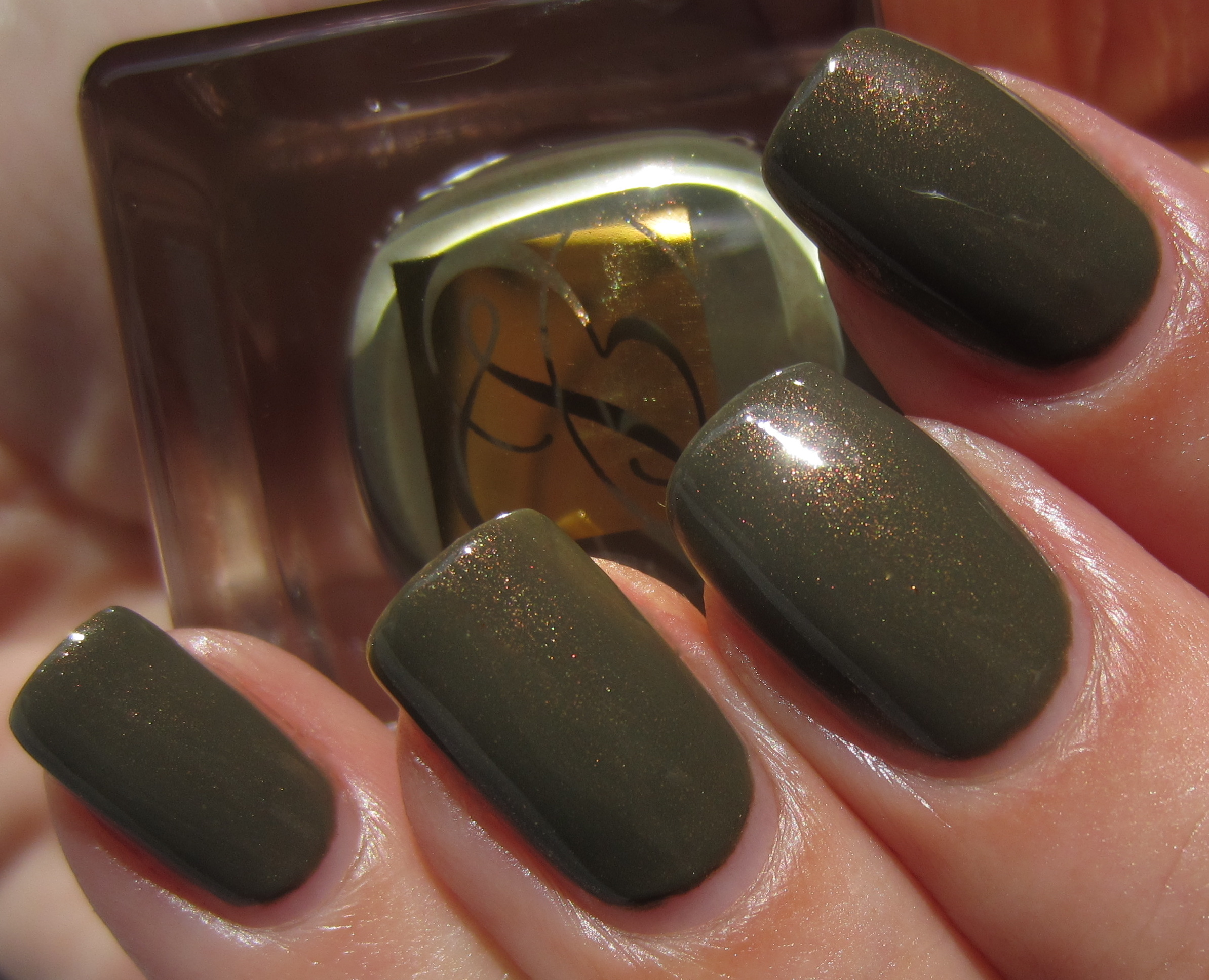 Estée Lauder – Pure Color Nail Laquer in \'Metallic Sage\' from the ...