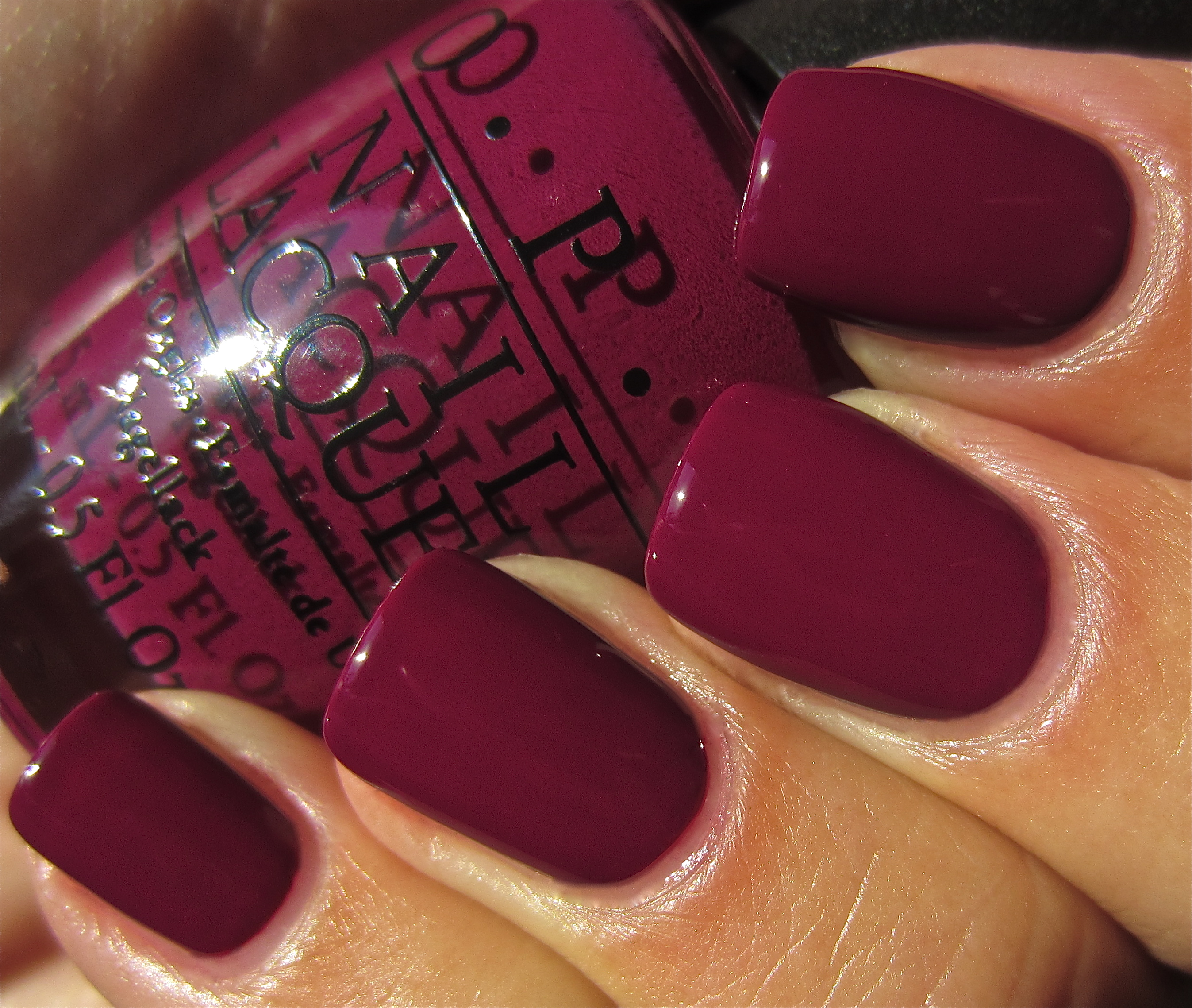 Nail Colors Winter: OPI Casino Royale Swatch