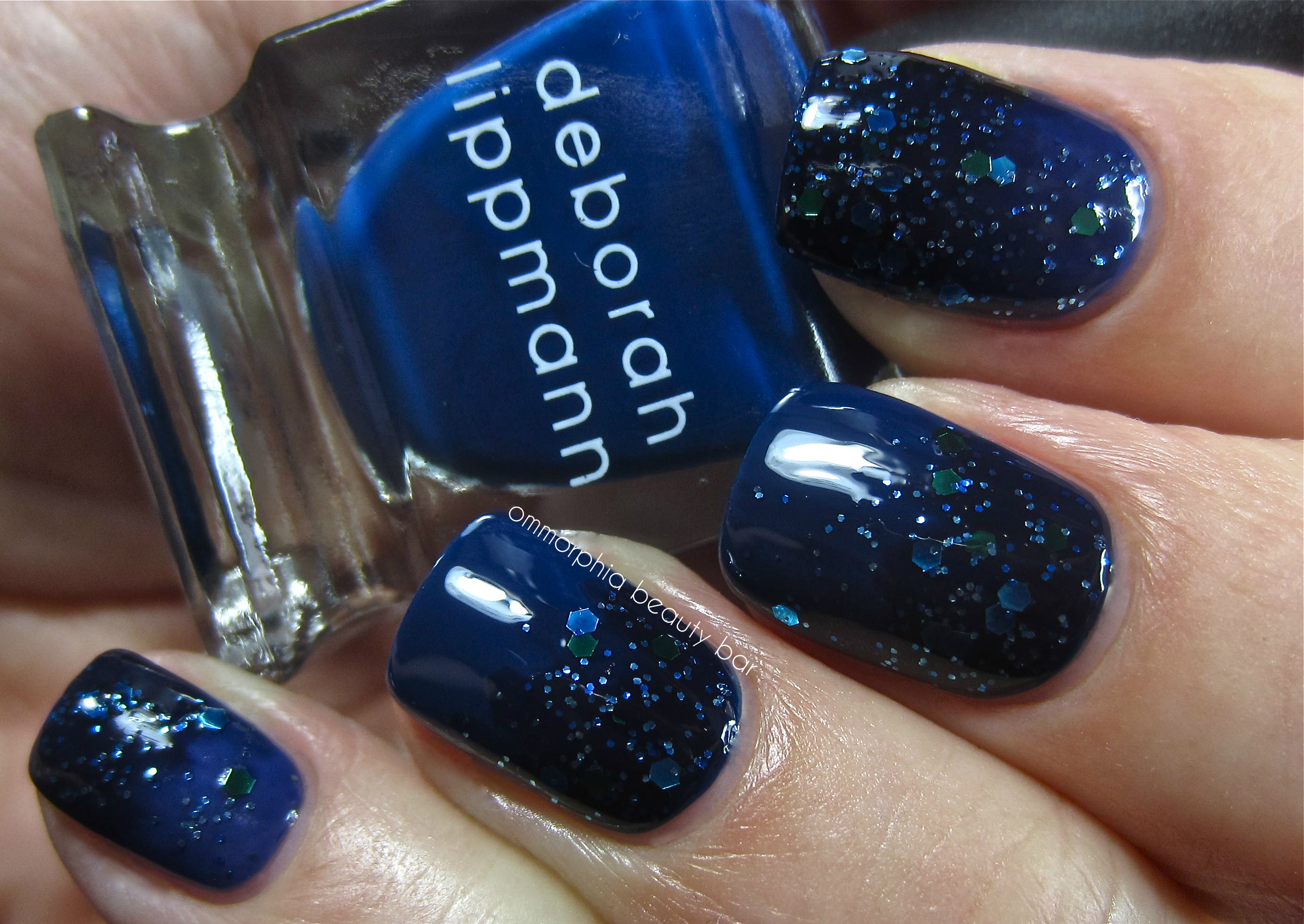 Deborah Lippmann Raspberry Beret swatch | ommorphia beauty bar