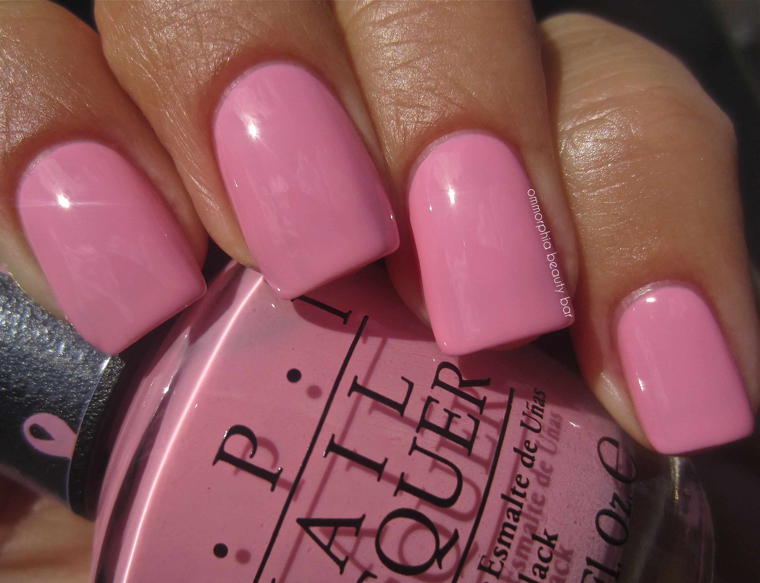 Opi Pink Ing Of Yous Swatch 2