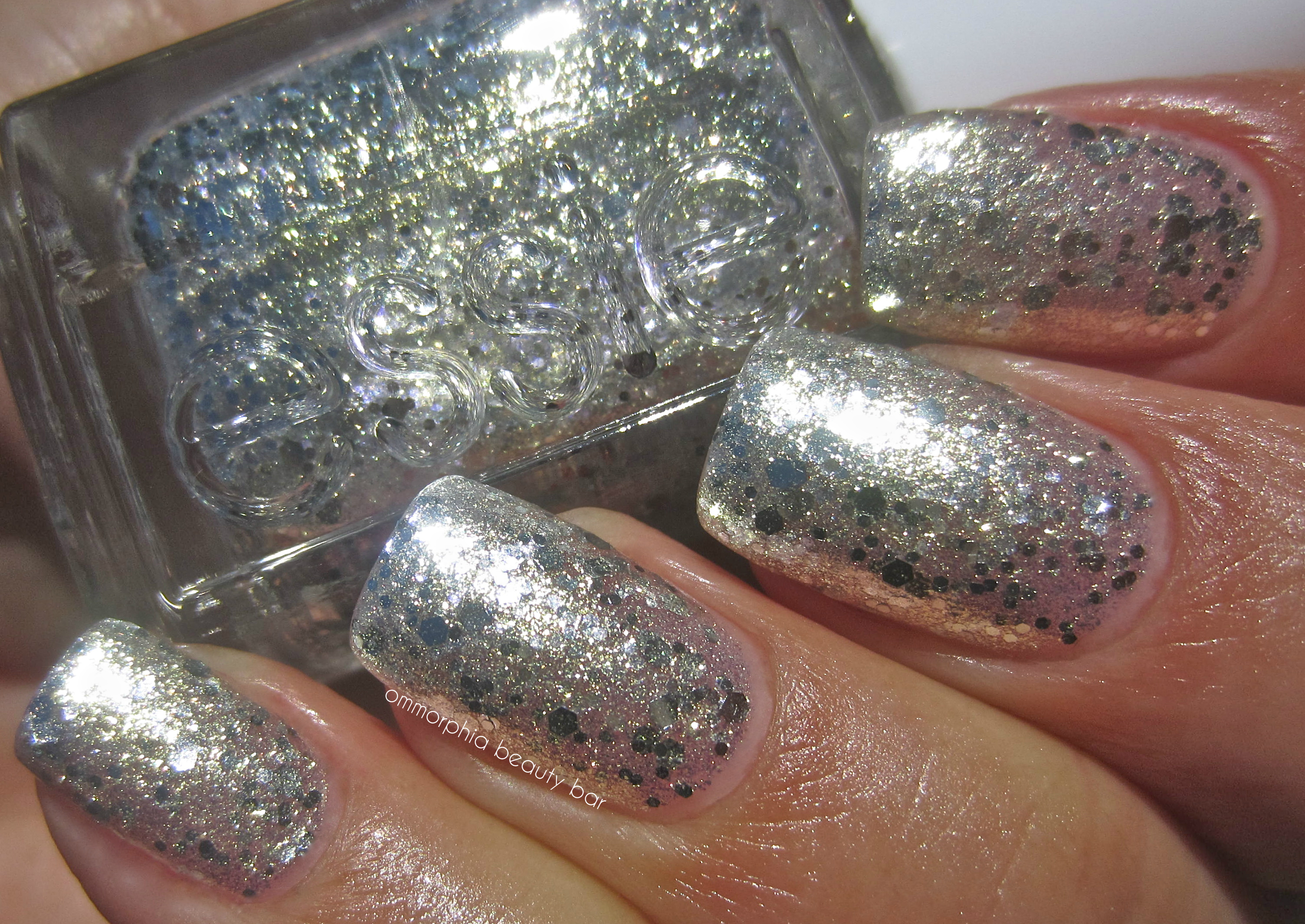 Essie Silver Glitter Nail Polish | Hession Hairdressing