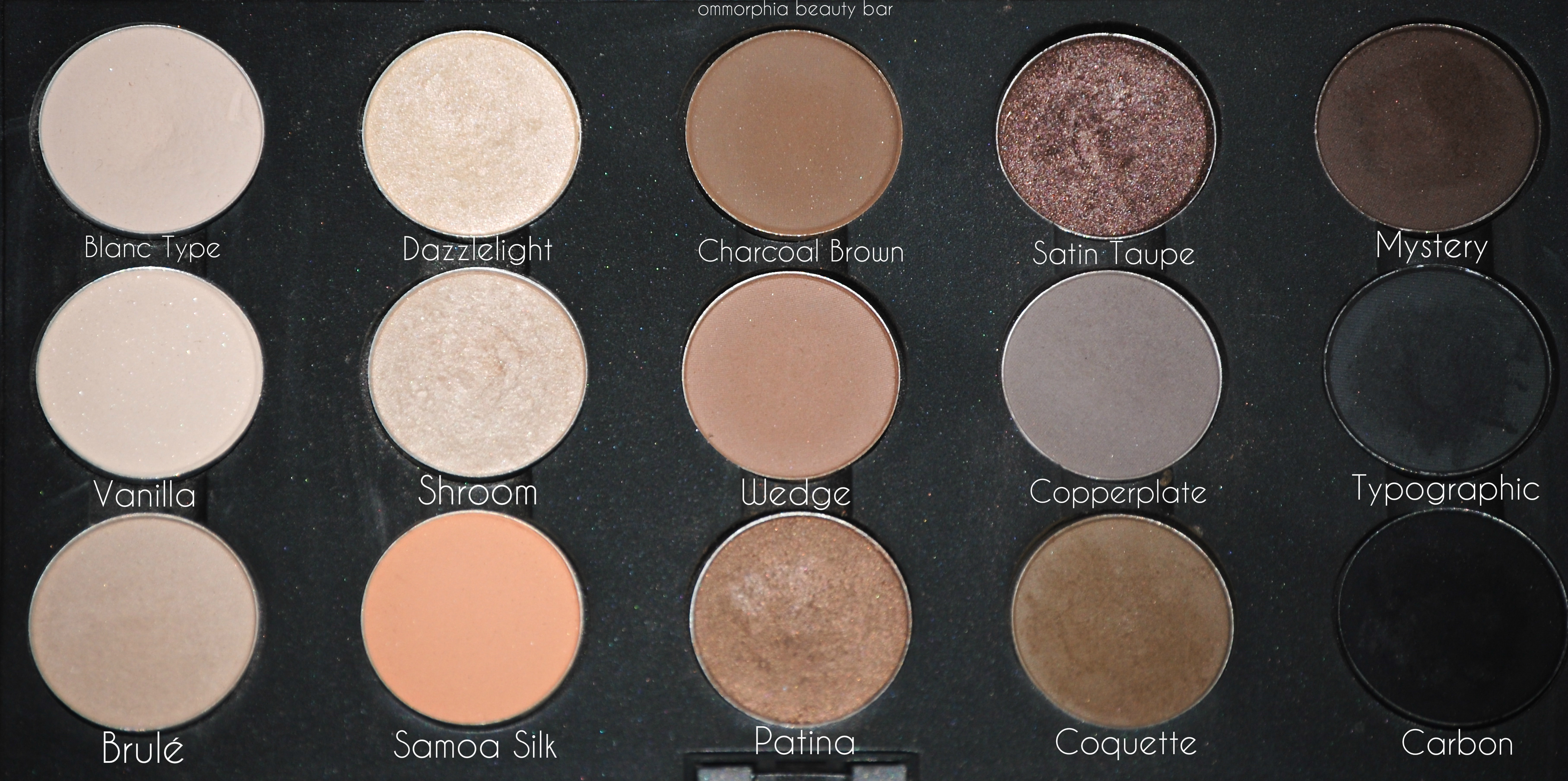 Mac de potting project or how i finally organized my eyeshadow mac palette 6 neutrals staples altavistaventures