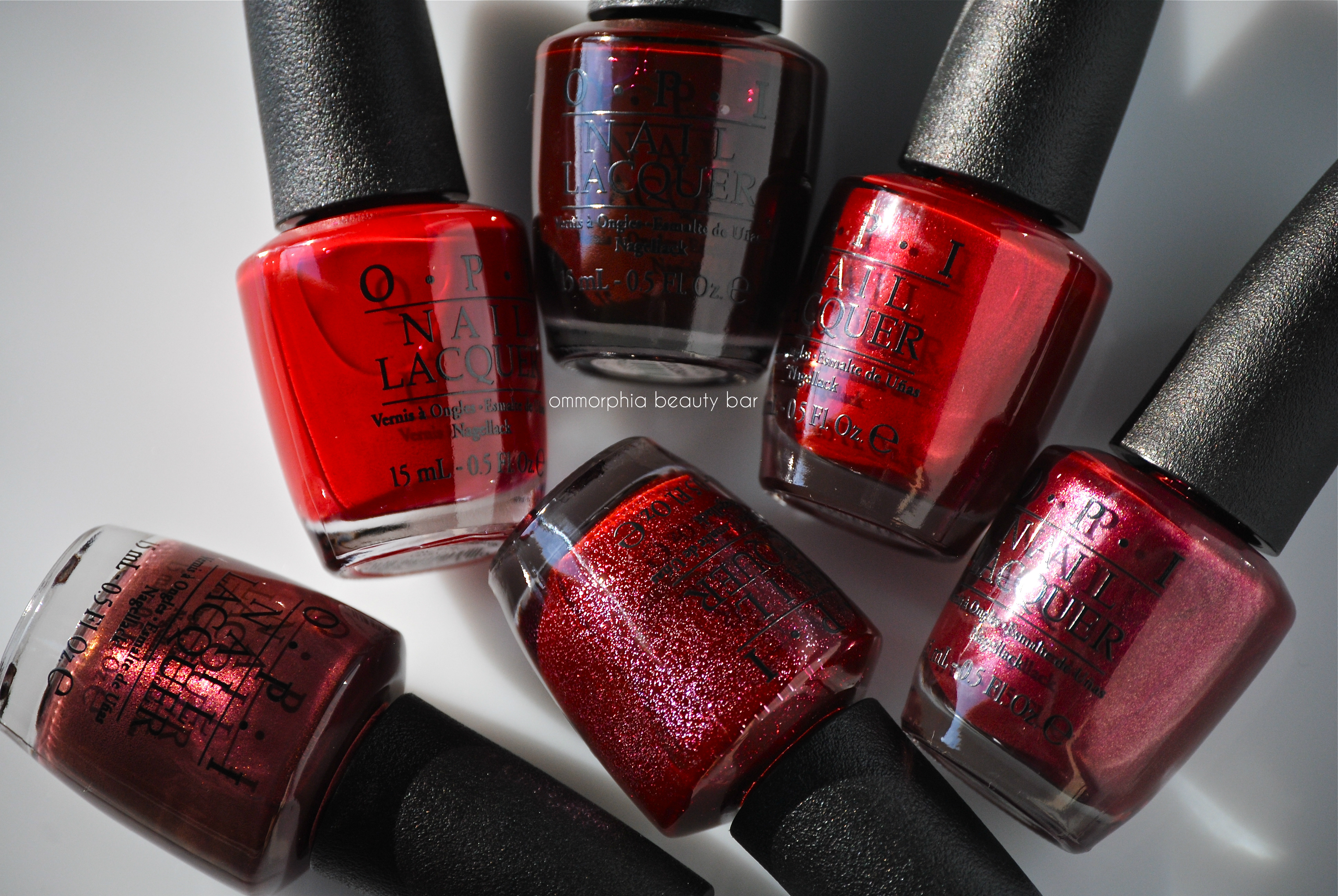 OPI – Mariah Carey Holiday 2013 Collection \'the reds\' | ommorphia ...