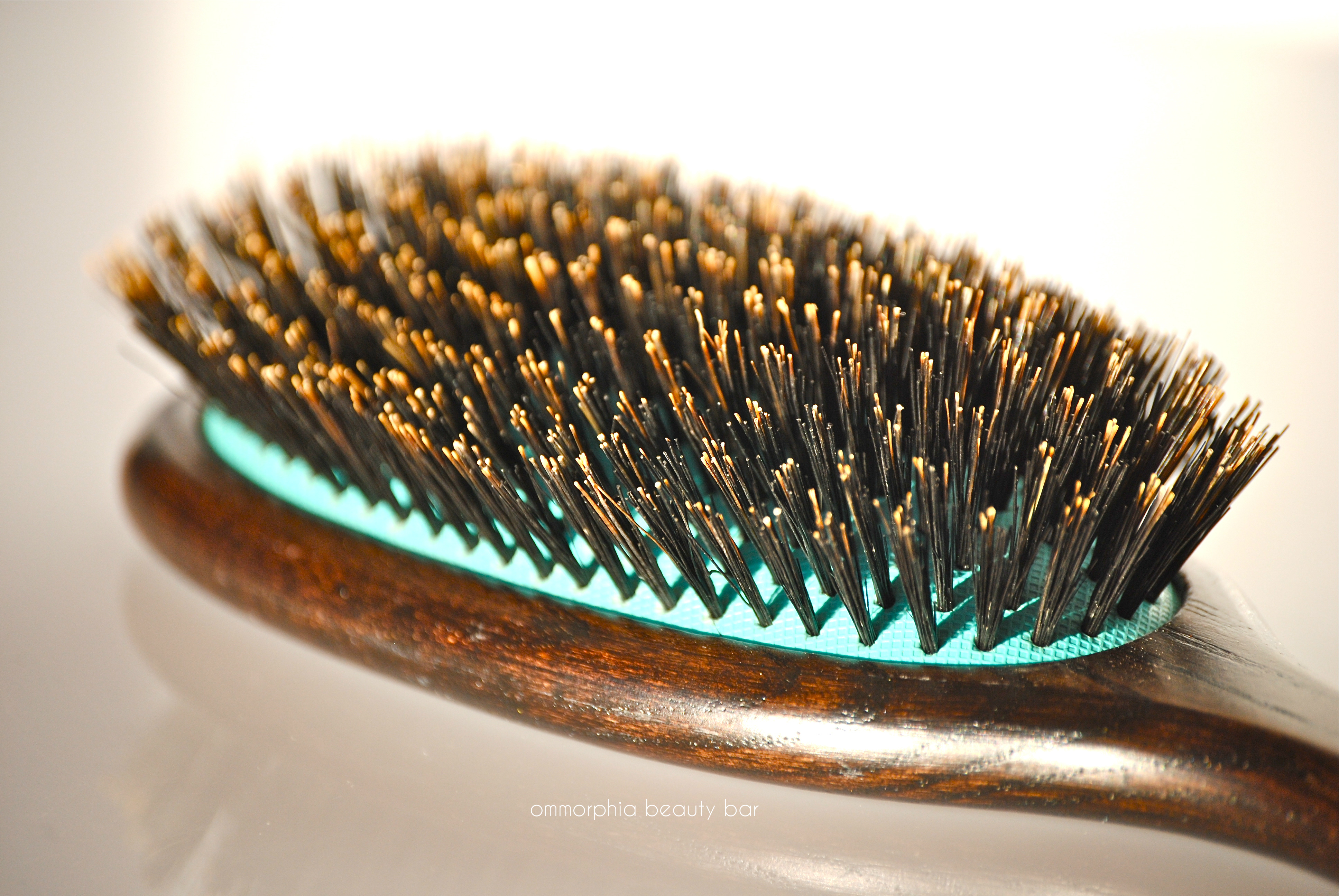 7a Boar Bristle Round Brush For Straight Outs