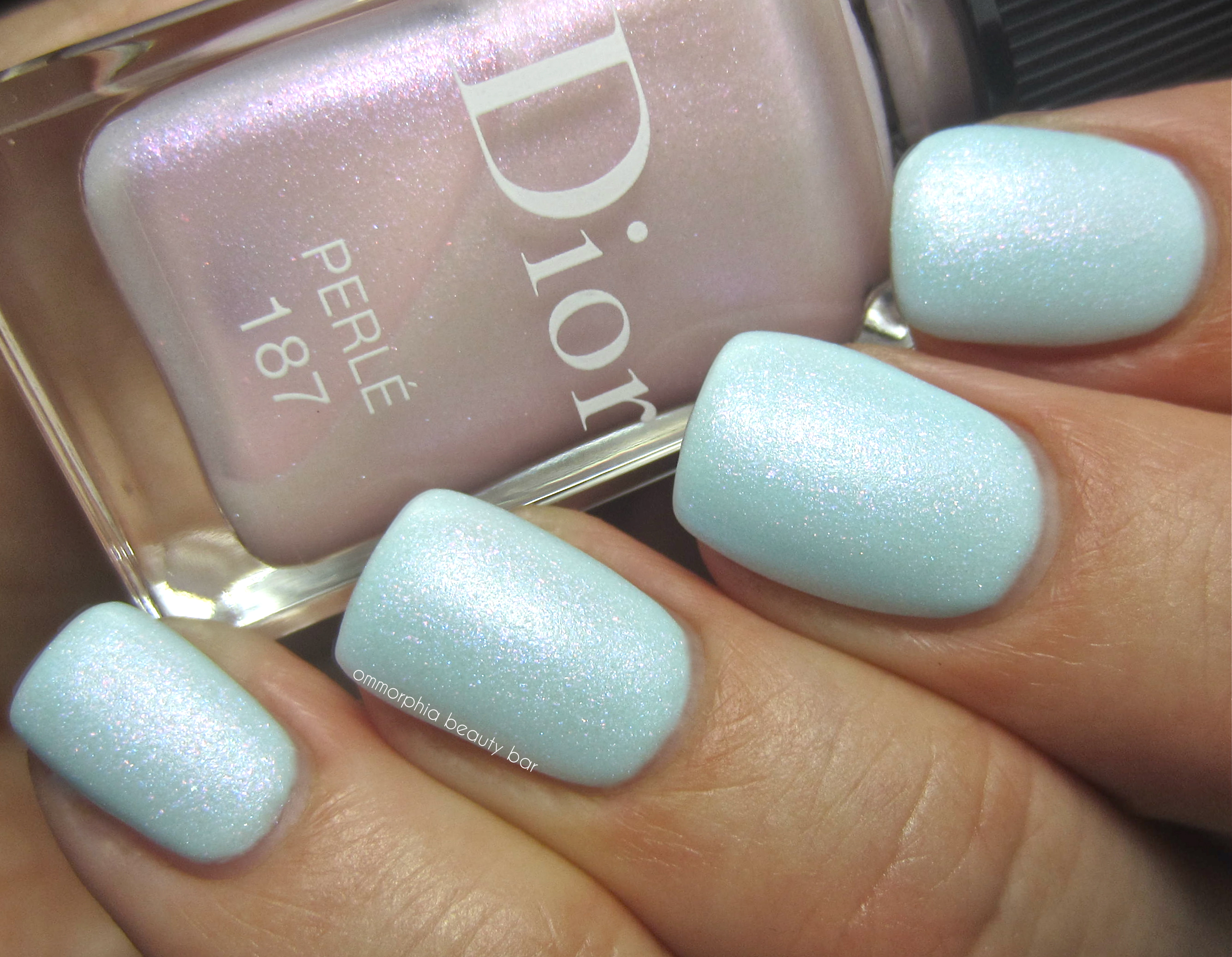 Dior Perle over Porcelaine swatch