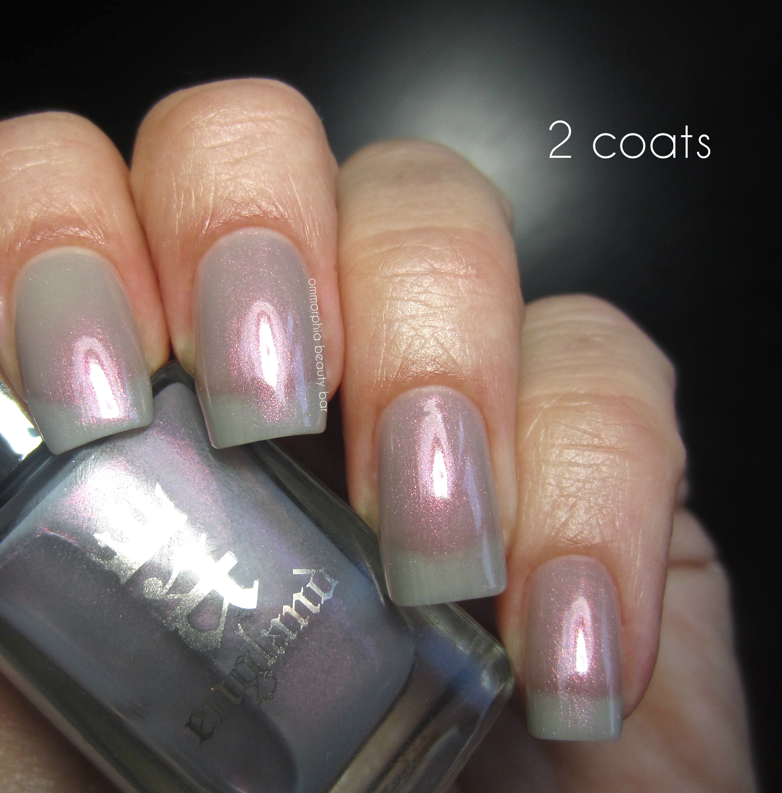 a-england Hurt No Living Thing 2 coats swatch