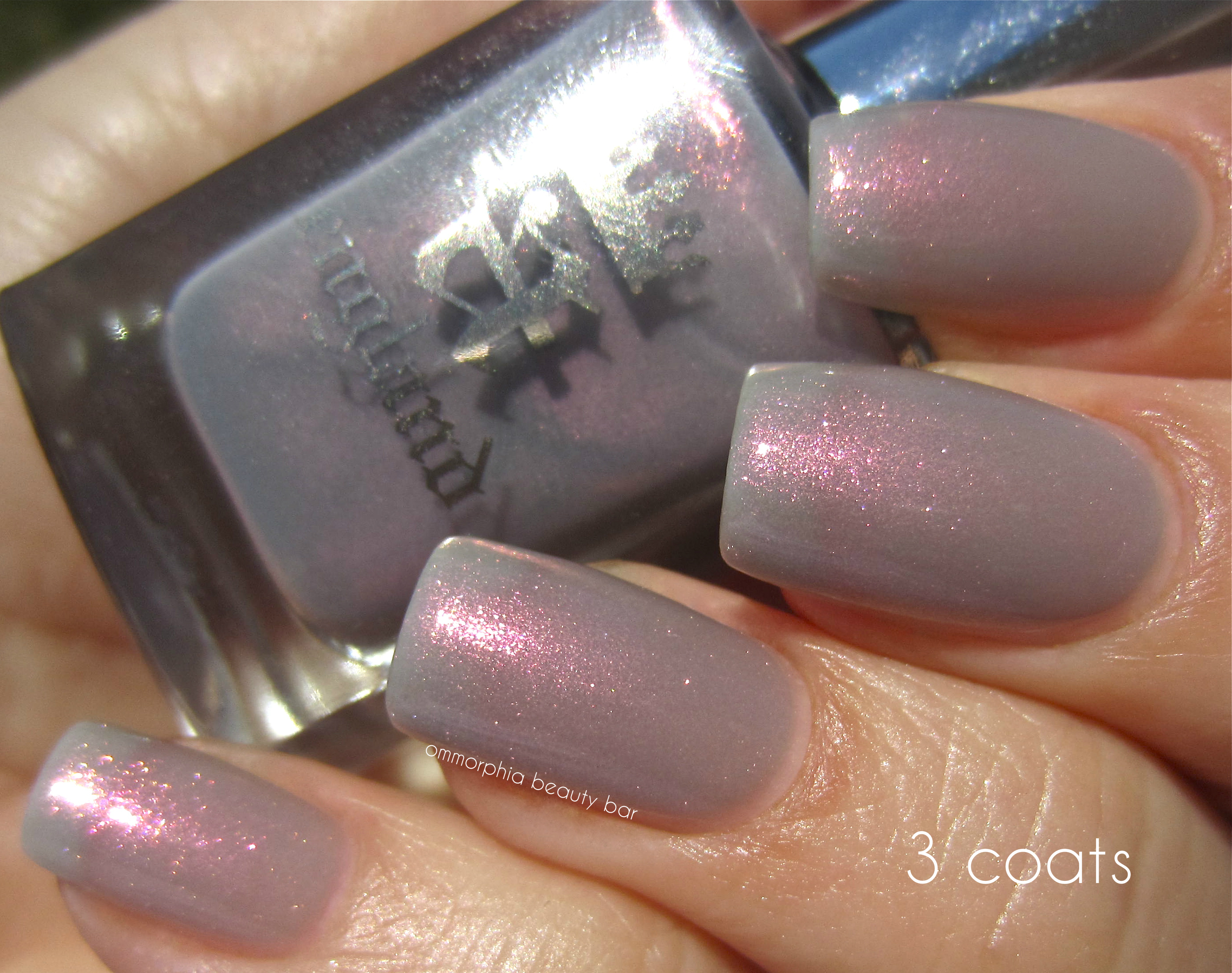 a-england Hurt No Living Thing 3 coats swatch sunlight