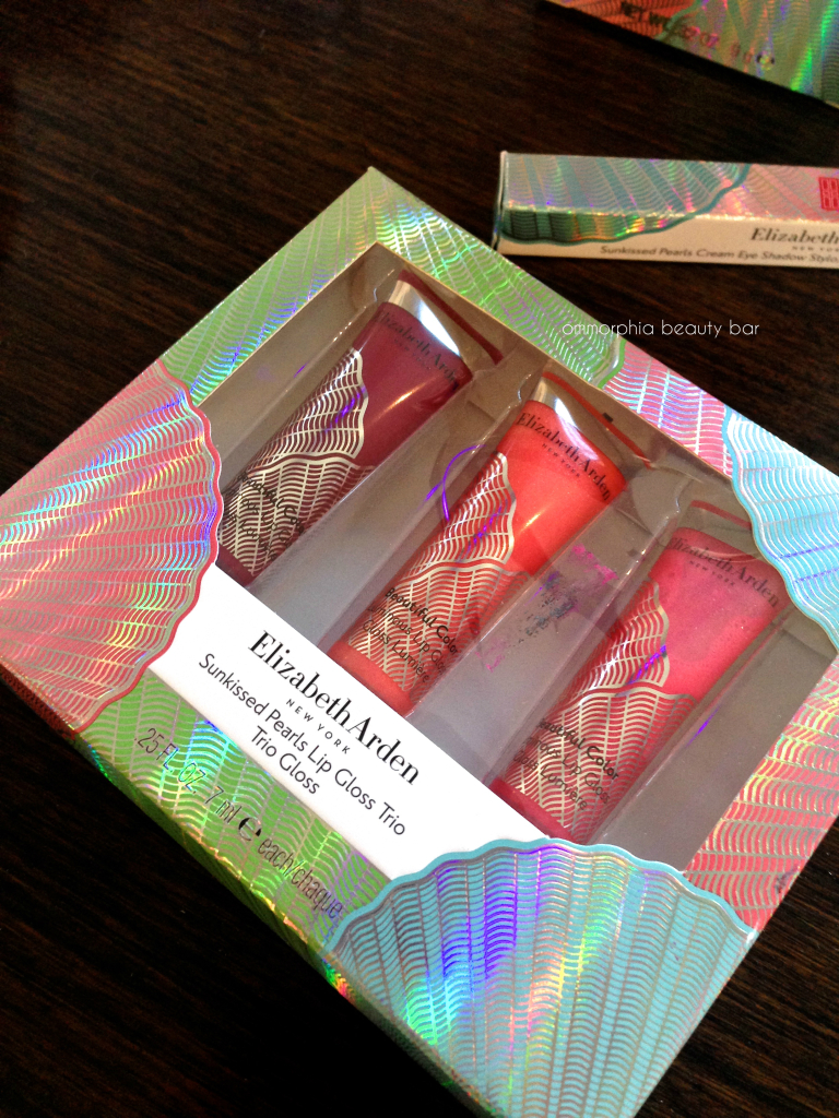Arden event color collection 201 lip gloss trio