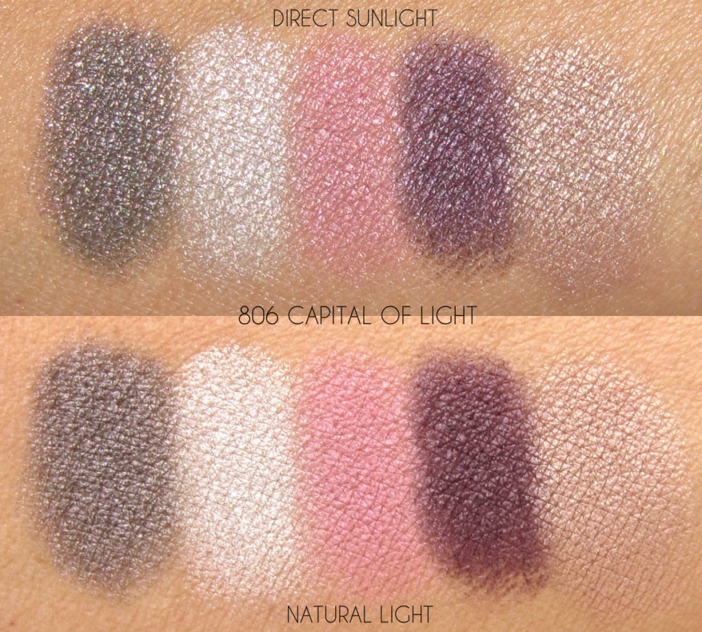 Dior Skyline Capital of Light swatches