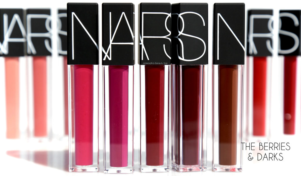 NARS Velvet Lip Glide The Berries & Darks