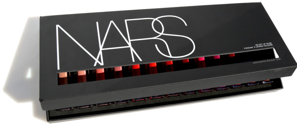NARS Velvet Lip Glide press box