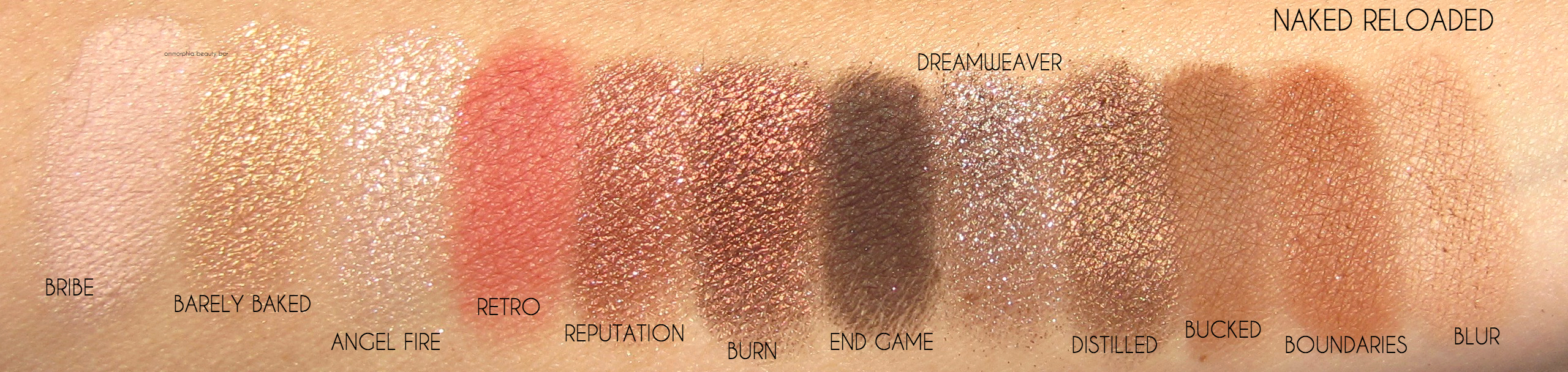 UD NAKED RELOADED Palette   Urban Decay   Import Parfumerie